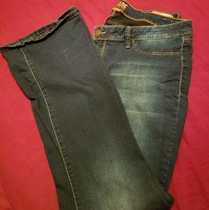 Women size 20 flare leg jeans